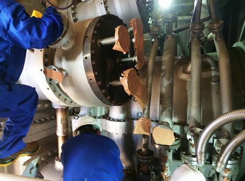 燃气轮机发电机组_南港动力--公司新闻--孟加拉国波拉225MW联合循环电厂6FA#2燃机检修 ...